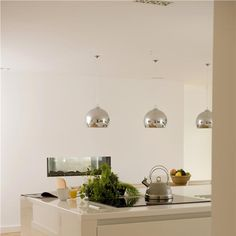 Kitchen in Wimborne White