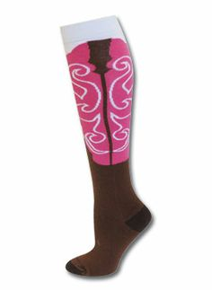 Socks Cowgirl Boot