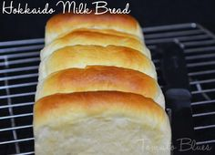 Three cheers to my bread baking group, We Knead To Bake. Milk Bread Recipe, Yeast Bread Recipes, Ciabatta, Naan, Japanese Milk Bread, Japanese Food, Hokkaido Milk Bread, Milk Bun, Vegetarian Recipes