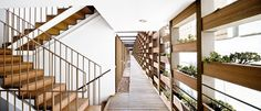 35 RESIDENCES AND ITS TRANSITION SPACES WITH THE CITY by Toni Gironès as Architects