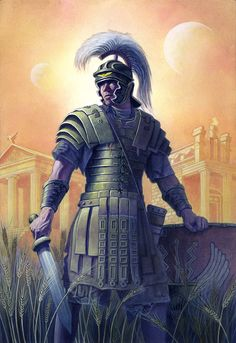 Want to discover art related to legionary? Check out inspiring examples of legionary artwork on DeviantArt, and get inspired by our community of talented artists. Ancient Rome, Ancient Greece, Ancient Art, Ancient History, Art History, Greek Warrior, Fantasy Warrior, Medieval World, Medieval Fantasy