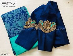 Embroidery blouse - Exclusive Bridal wear Boutique in Coimbatore Bridal Blouse ,Bridal Gown ,Embroidery ,Kid Frock ,Wed - Pattu Saree Blouse Designs, Simple Blouse Designs, Stylish Blouse Design, Fancy Blouse Designs, Designs For Dresses, Bridal Blouse Designs, Batik, Chiffon, Couture