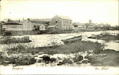 Foxford, Co Mayo, Providence Woollen Mills, on the banks of the River Moy County Mayo, Old Postcards, Irish, Ireland, Banks, Magazine, River, London, Ebay
