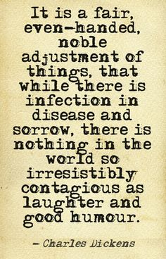 If Charles Dickens were alive, he'd turn 201 today! Happy birthday to the man who reminded us about the most contagious thing of all.     #quote #inspiration #laughter