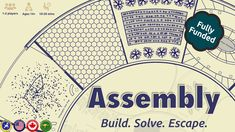 Assembly: A compact solo or cooperative puzzle game  Assembling your escape ship requires both skill and willingness to push your luck if you have any chance of escaping. Working alone or with your friend, you must use your time and commands wisely, or else you will run out of time.