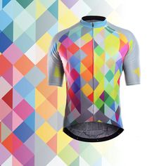 Racmmer 2017 Respirant Vélo Jersey D'élo Court Clothing Ropa Maillot Ciclismo Sportwear Vé Cycling Wear, Cycling Jerseys, Cycling Bikes, Cycling Outfit, Cycling Clothes, Bike Kit, Mtb Bicycle, Golf Shirts, Short Outfits