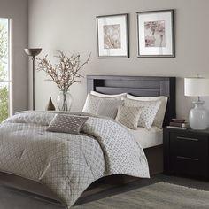 Madison Park Biloxi 7 Piece Comforter Set & Reviews | Wayfair