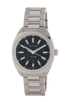 Gucci Watches For Men, Gucci Men, Stainless Steel Bracelet, Stainless Steel Case, Watch Companies, Michael Kors Watch, Omega Watch, Bracelet Watch, Quartz