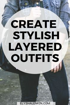If you don't know how to match clothes to create layered outfits, these style tips will help! This is especially helpful if you have a lot of garments in your closet, but putting your clothing into cohesive looks doesn't come natural. These stylist secrets will show you how to create a stylish, layered outfit for fall so you have less stress when getting dressed, and you feel more confident in what you wear.