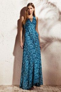 Animal georgette maxi dress, Derek Lam for Kohls