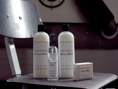 John Smedley introduces a line of care products, created by The Laundress to maintain and condition your knitwear.
