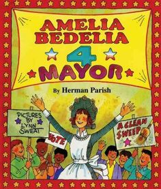 A series of misunderstandings leads the literal-minded Amelia Bedelia to run for mayor.