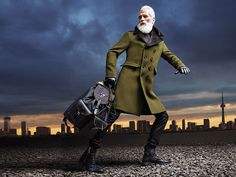 Toronto model Paul Mason earns international attention as 'Fashion Santa'