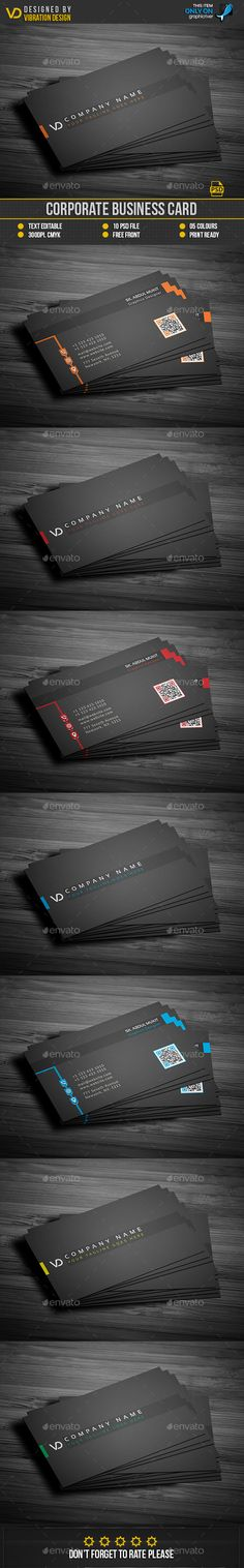 Business Card Template PSD. Download here: https://graphicriver.net/item/business-card/17379661?ref=ksioks