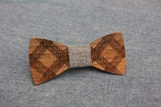 Wooden Bow Tie PENGUIN™ / SIMPLE GEOMETRY by PenguinBowTie on Etsy
