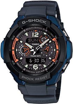 Amazon.com  CASIO G-SHOCK GW-3500B-2AJF SKY COCKPIT TOUGH SOLAR RADIO  CONTOL MULTIBAND 6  Watches 2d22534fd6
