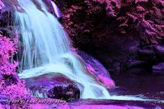 Waterfall picture I edited to make look like the world were a more beautiful place than it already is