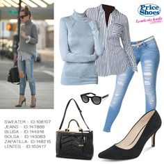 Casual y chic. #outfit #fresh #style #girl #sweet #fashion look #itgirl #fashionable #shoes #casual #streetstyle #style #spring #denim