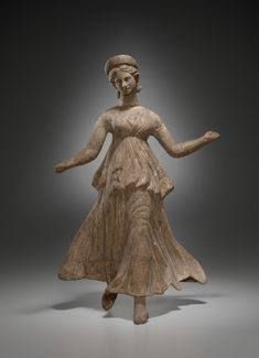 Greek, Asia Minor (Myrina)  2nd century BCE  Terracotta  25.4 cm  Yale University Art Gallery