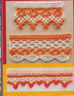 Die 269 Besten Bilder Von Crochet Borders Yarns Crochet Patterns