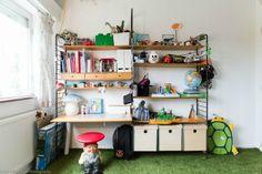 Una cabaña para dormir en la habitación infantil de Ulysse - Deco & Living
