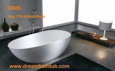 Corian Bathtub  Item No.: DB06  Size: 1700x860x500mm  corian bathtub,corian bathtubs,bathtub corian,solid surface bathtub,cast stone bathtub http://www.dreambathtub.com/Bathtubs/corian-bathtub.html