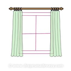 1000 Ideas About Curtain Length On Pinterest Curtains Panel Curtains And Blackout Curtains