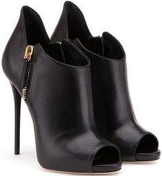 Giuseppe Zanotti Design 'Malika' Booties in Black #fashionshoes,