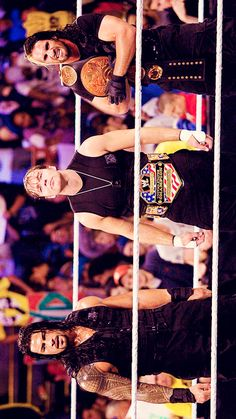 The Shield - Night of Champions 201 Dean Ambrose Shield, Roman Reigns Dean Ambrose, Seth Freakin Rollins, Seth Rollins, Divas, Alexis Bliss, Roman Regins, Wwe Pictures, The Shield Wwe