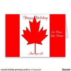 canada holiday greeting cards