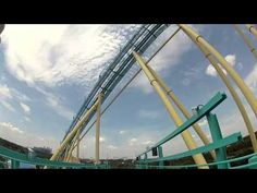 """Kraken was voted #1 in the """"Wrong Way Up"""" category on Insane Coaster Wars. Check out this video to see why fans voted it one of the best rides in America!"""