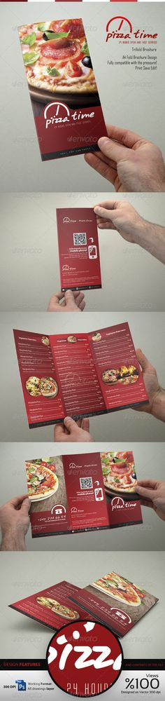Tasty PSD Food Menu Trifold Brochure Template • Only available here ➝ http://graphicriver.net/item/food-menu-trifold-broshure-v1/4239768?ref=pxcr