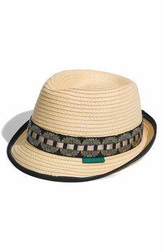 Robert Graham 'Trotman' Straw Fedora | Nordstrom Straw Fedora, Fedora Hats, Gentleman Hat, Raffia Hat, Kentucky Derby Hats, Stylish Hats, Classy Men, Robert Graham, Love Hat