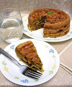 Magpie's Recipes: Whole Wheat Chatti Pathiri- Savory layered crepes
