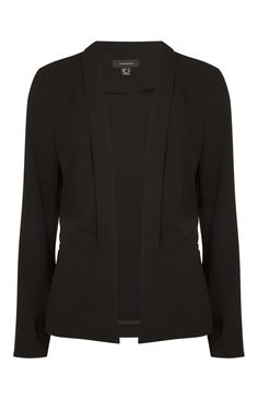 Black drape collar jacket. Primark - Favorites