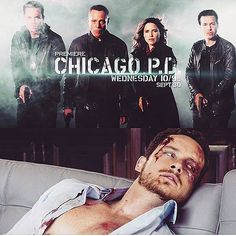 """Jesse Lee Soffer Instagram: """"One month till the premier of Chicago PD season 3! Who's ready?! #youshouldseetheotherguy #chicagopd #cominatya"""""""