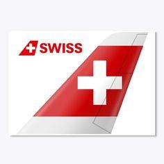 Sticker of Swiss International Air Lines