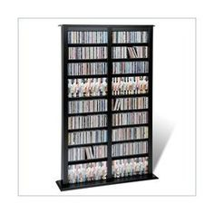 Tall DVD storage for anyone who owns nearly 1,000 movies.  I only know one.  :0*
