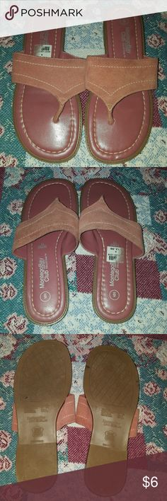 Sandals ( Final Price ) Pair of sandals worn once in great shape . MontegoBay Club Shoes Sandals