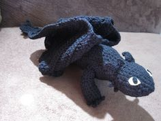 Knitting Pattern Toothless Dragon : 1000+ images about Crochet Amigurumi Addict on Pinterest Amigurumi, Amiguru...
