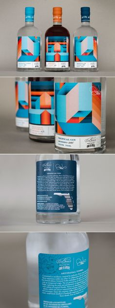 We're Digging These Geometric Illustrations For This Line of Spirits — The Dieline | Packaging & Branding Design & Innovation News