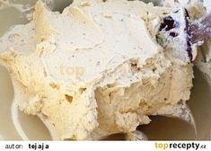 Oprava sraženého krému recept - TopRecepty.cz Baking Tips, Tiramisu, A Table, Nutella, Muffins, Fondant, Deserts, Food And Drink, Dairy