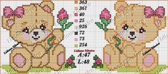 Pinta e Borda (Lidiane Silveira) Cross Stitch Baby, Cross Stitch Animals, Cross Stitch Charts, Cross Stitch Designs, Cross Stitch Patterns, Cross Stitching, Cross Stitch Embroidery, Beading Patterns, Crochet Patterns