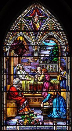 Birth of Our Blessed Virgin Mary - Naissance de Marie by maxkolbemedia, via Flickr