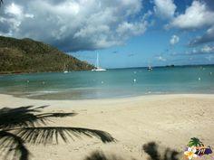 Ile Saint-Martin | Antilles   La plage de Anse Marcel