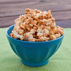 """My favorite peanut butter caramel popcorn snack. Or— as my former roommates call it— """"the shiz."""""""