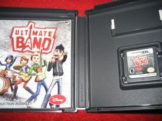 Ultimate Band  (Nintendo DS, 2008) music instruments rock band video game