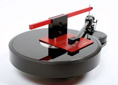 Brinkmann Audio Bardo Direct Drive Turntable, 9.6 Tonearm and Pi LOMC Cartridge with Brinkmann Audio Protractor (based on the famous Dennesen SoundTractor).