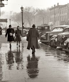 Arthur Rothstein  IC Conditions, 1940 | Black and White  #people #photography #vintage