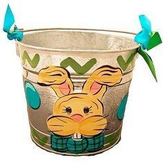 Bunny on a bucket..love it!